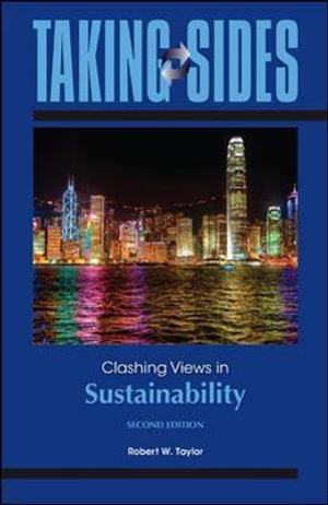 Cover of Taking Sides: Clashing Views in Sustainability