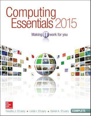 Cover of Computing Essentials 2015 Complete Edition