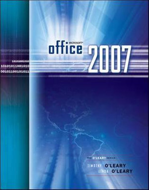 Cover of Microsoft Office 2007