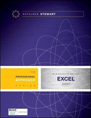 Cover of Microsoft Excel 2007: A Professional Approach