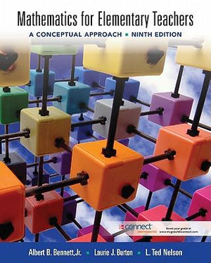 Cover of Mathematics for Elementary Teachers: A Conceptual Approach