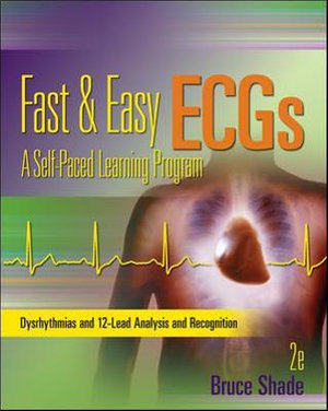 Cover of Fast and Easy ECGs: A Self-Paced Learning Program
