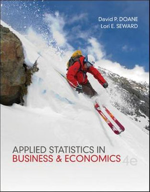 Cover of Applied Statistics in Business and Economics
