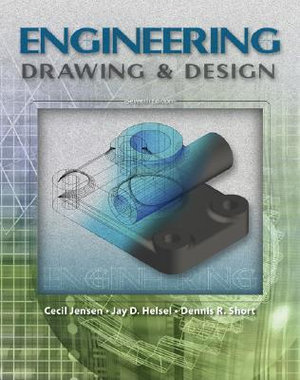 Cover of Engineering Drawing And Design