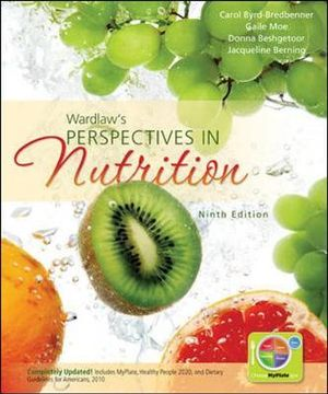 Cover of Wardlaw's Perspectives in Nutrition