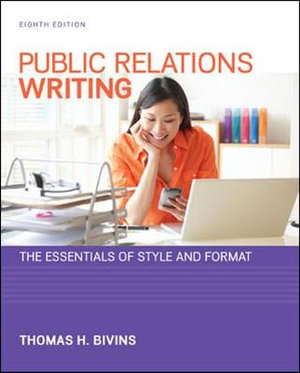 Cover of Public Relations Writing: The Essentials of Style and Format
