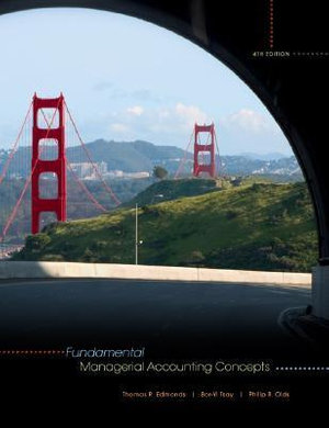 Cover of Fundamental Managerial Accounting Concepts