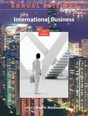Cover of Annual Editions: International Business, 17/e