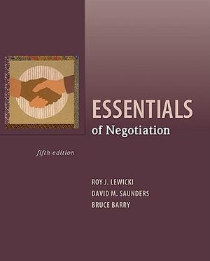 Cover of Essentials of Negotiation