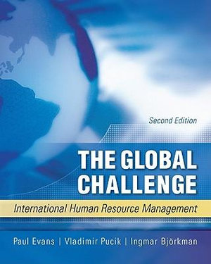Cover of The Global Challenge: International Human Resource Management