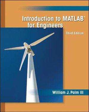 Cover of Introduction to MATLAB for Engineers