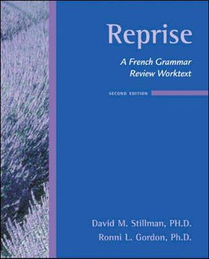 Cover of Reprise: A French Grammar Review Worktext