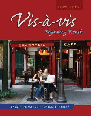 Cover of Vis-à-vis: Beginning French (Student Edition)