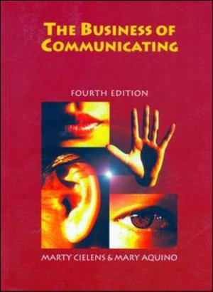 Cover of The Business of Communicating