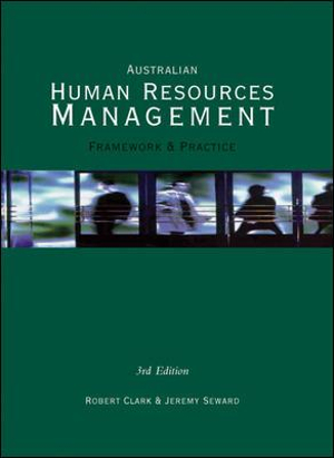 Cover of Australian Human Resources Management