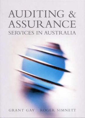 Cover of Auditing & Assurance