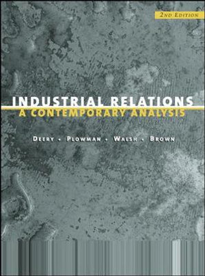 Cover of Industrial Relations