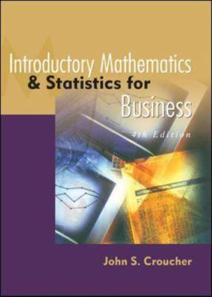 Cover of Introductory Mathematics and Statistics for Business