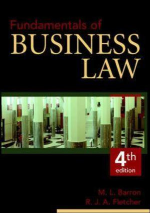 Cover of Fundamentals of Business Law