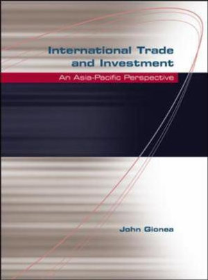 Cover of International Trade and Investment
