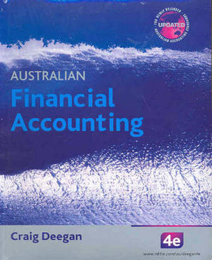 Cover of Australian Financial Accounting