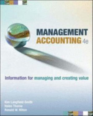 Cover of Management Accounting
