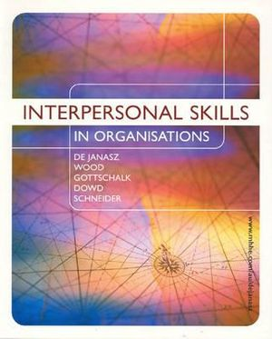 Cover of Interpersonal Skills in Organisations