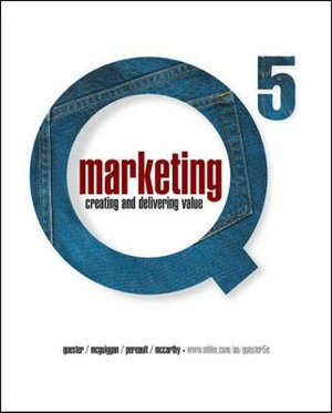 Cover of Marketing: Creating and Delivering Value