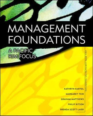 Cover of Management Foundations