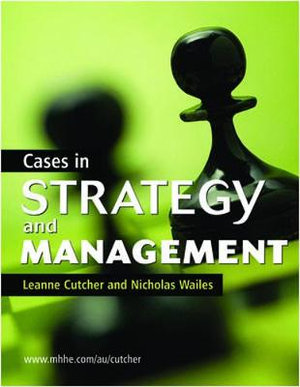 Cover of Cases in Strategy and Management