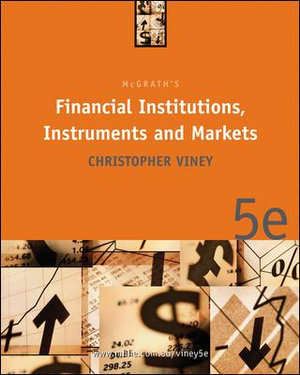 Cover of McGrath's Financial Institutions, Instruments and Markets