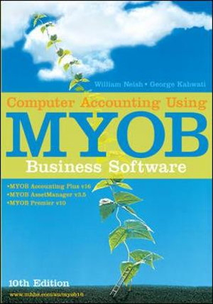 Cover of Computer Accounting Using MYOB Business Software
