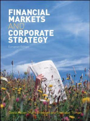 Cover of Financial Markets and Corporate Strategy