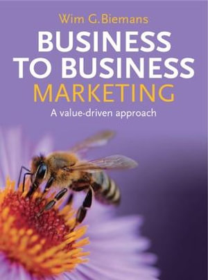 Cover of Business to Business Marketing