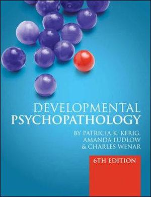 Cover of Developmental Psychopathology