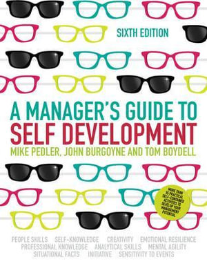 Cover of A Manager'S Guide To Self-Development