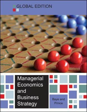 Cover of Managerial Economics and Business Strategy
