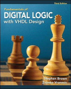 Cover of Fundamentals of Digital Logic with VHDL Design with CD-ROM