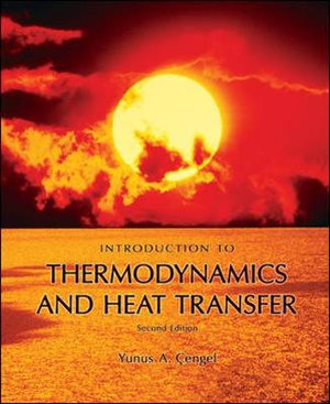 Cover of Introduction to Thermodynamics and Heat Transfer + EES Software