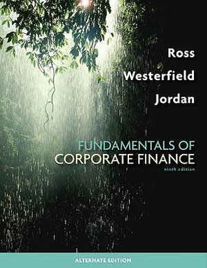 Cover of Fundamentals of Corporate Finance Alternate Edition