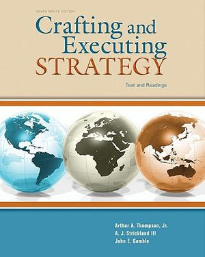 Cover of Crafting & Executing Strategy: Text and Readings