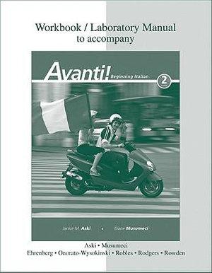 Cover of Workbook/Laboratory Manual t/a Avanti!