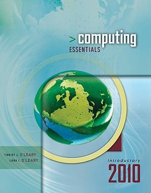 Cover of Computing Essentials 2010 Introductory Edition