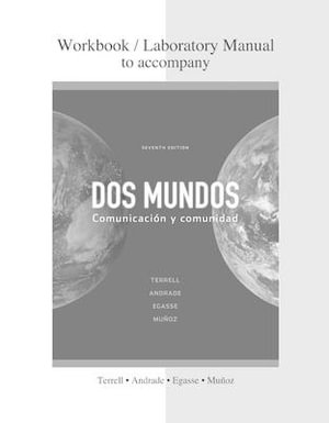 Cover of Combined Workbook/Lab Manual to accompany Dos mundos