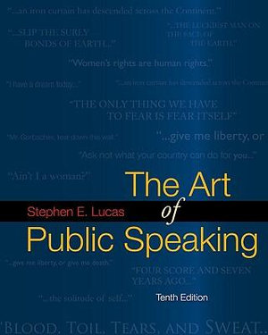 Cover of The Art of Public Speaking with Connect Lucas