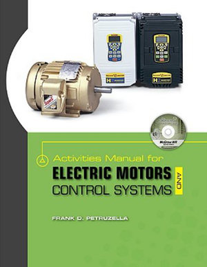 Cover of Activities Manual for Electric Motors and Control Systems w/ Constructor CD