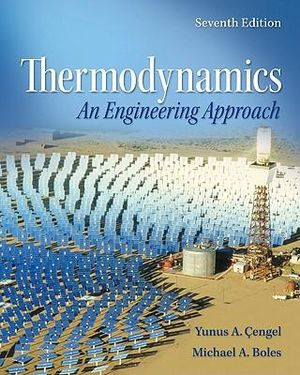 Cover of Thermodynamics: An Engineering Approach with Student Resources DVD