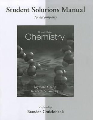 Cover of Student Solutions Manual for Chemistry
