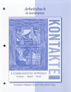 Cover of Workbook/Laboratory Manual for Kontakte