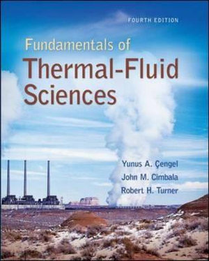 Cover of Fundamentals of Thermal-Fluid Sciences with Student Resource DVD